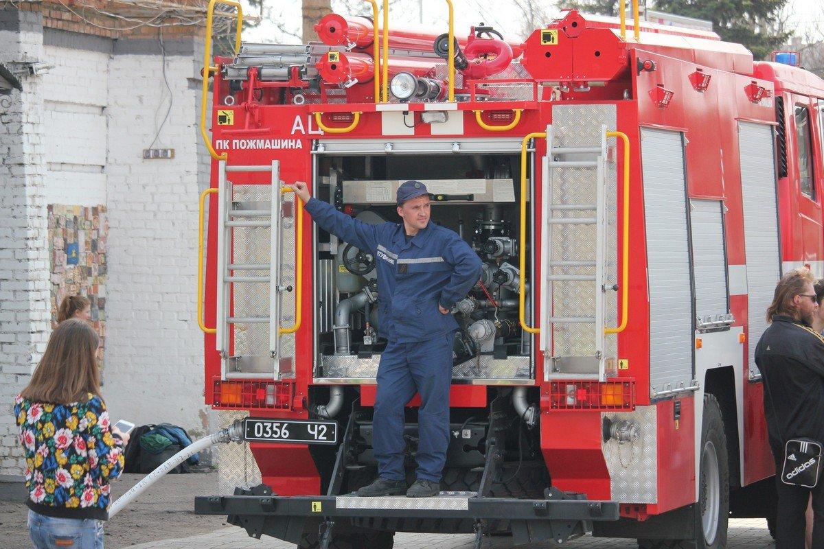 Новая пожарно-спасательная техника 28 части горрайонного отделения ГУ ГСЧС Украины в Днепропетровской области