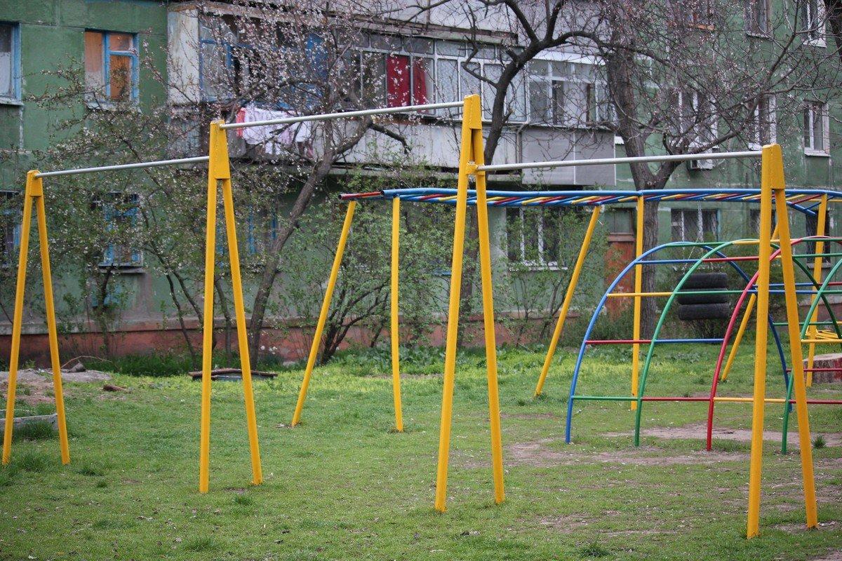 Отремонтированная площадка