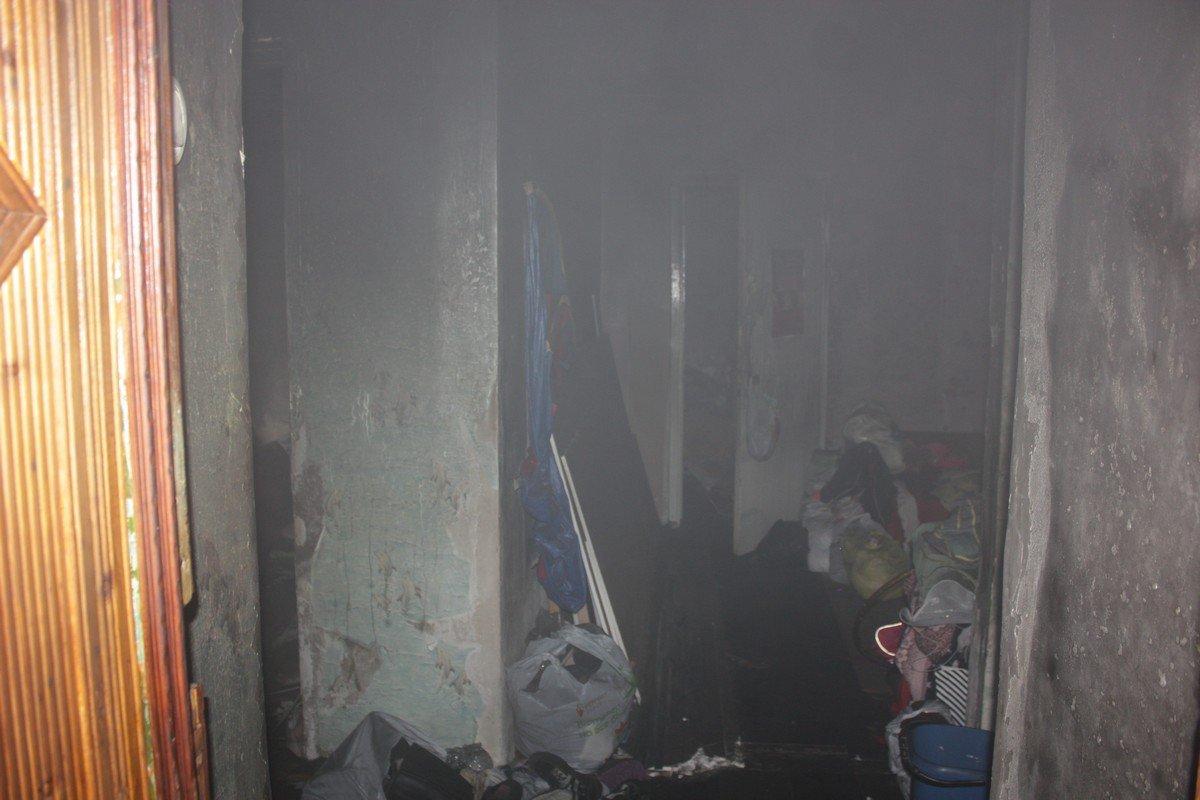 Квартира в которой произошло возгорание