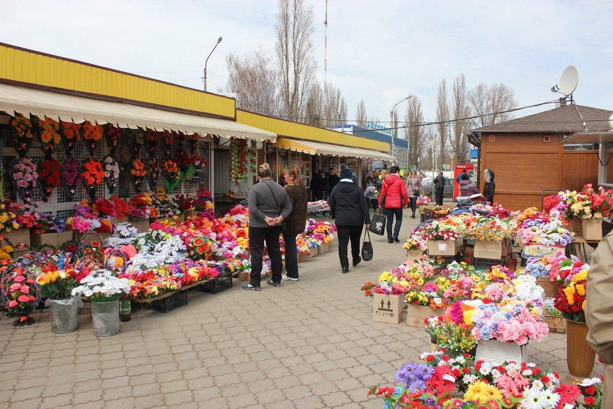 Рынок в районе Автовокзала