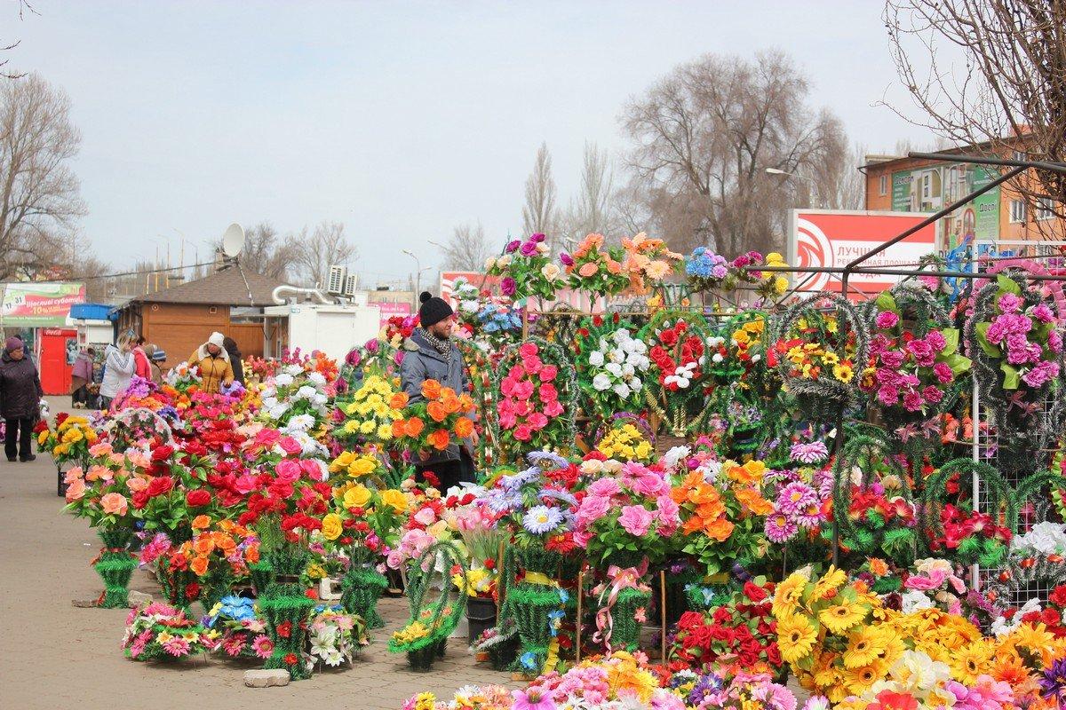 Как будут утилизированы эти цветы после отработки - неизвестно