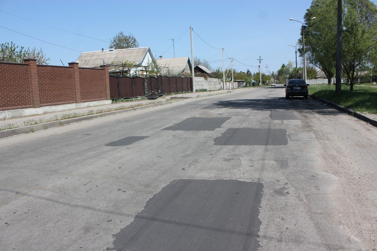 Отремонтированная дорога на Некрасова