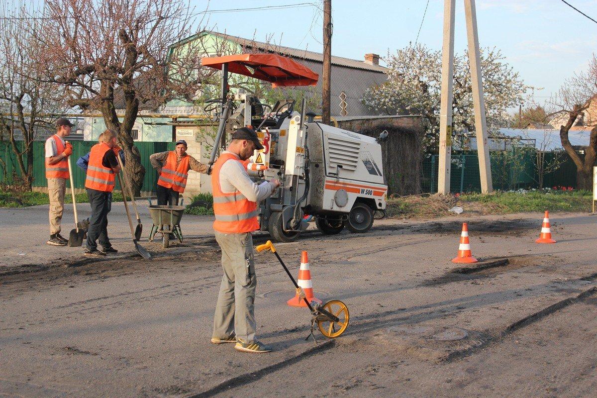 Ямочный ремонт проведут на улицах Некрасова и Светлой