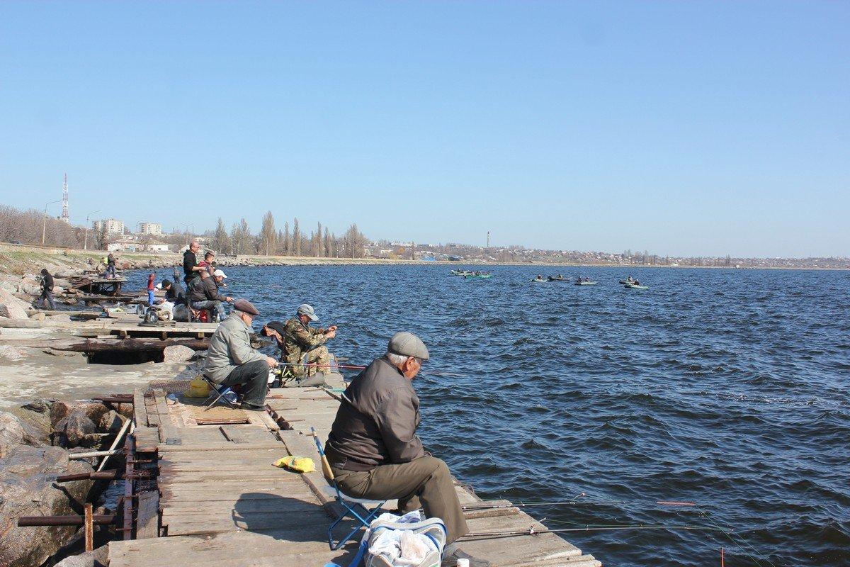 У рыбаков выдался славный денек