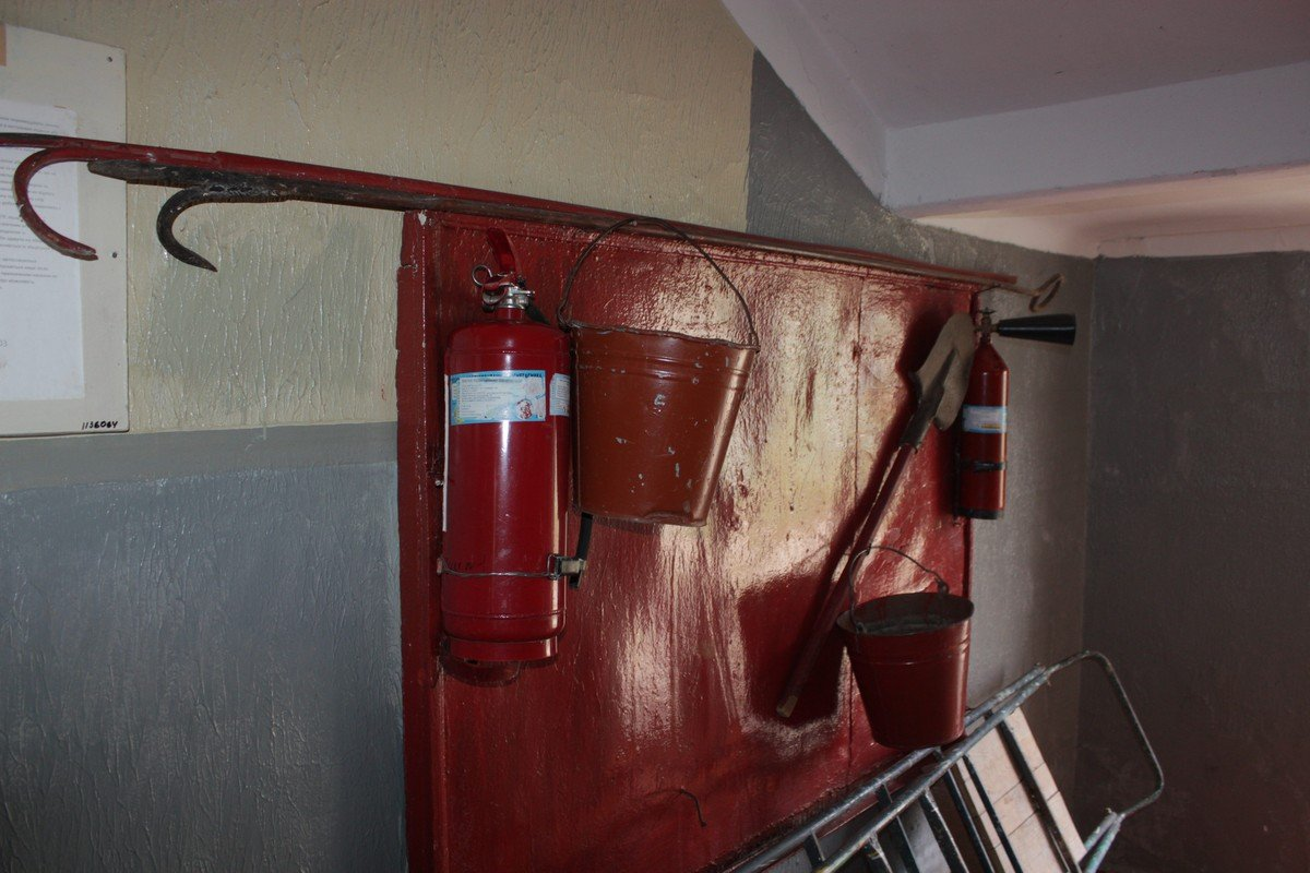 В школе соблюдают пожарную безопасность