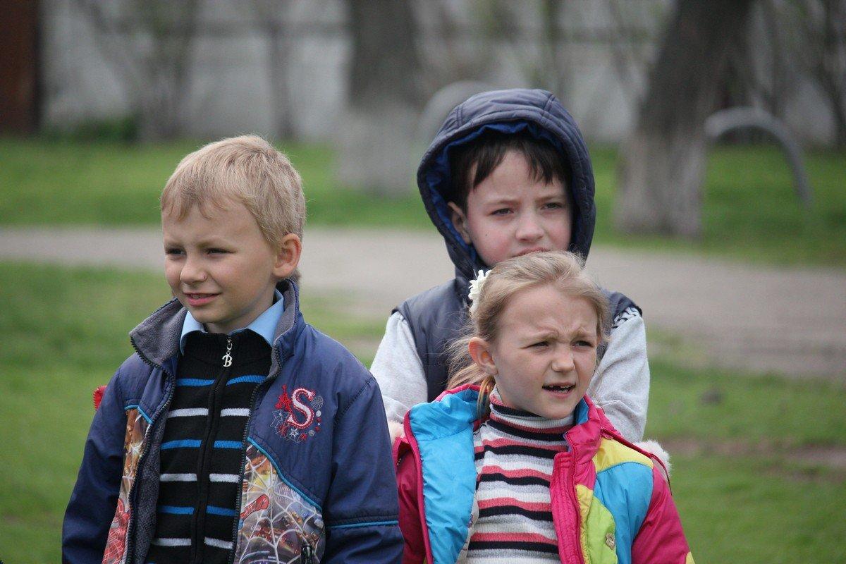 Самые младшие школьники