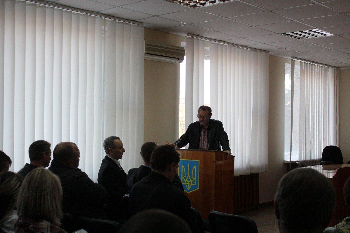 Перед присутствующими выступил Виталий Журавлев