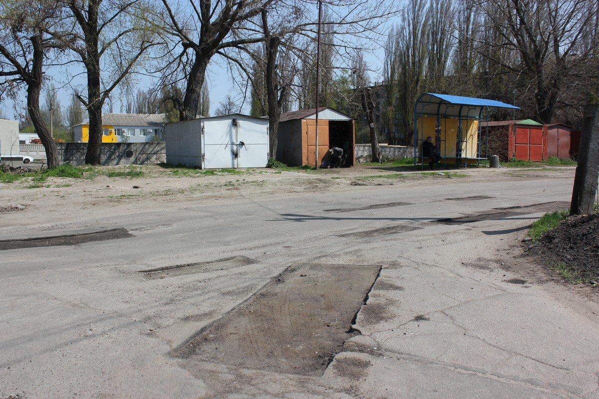 Ремонт дорожного покрытия на улице Светлой