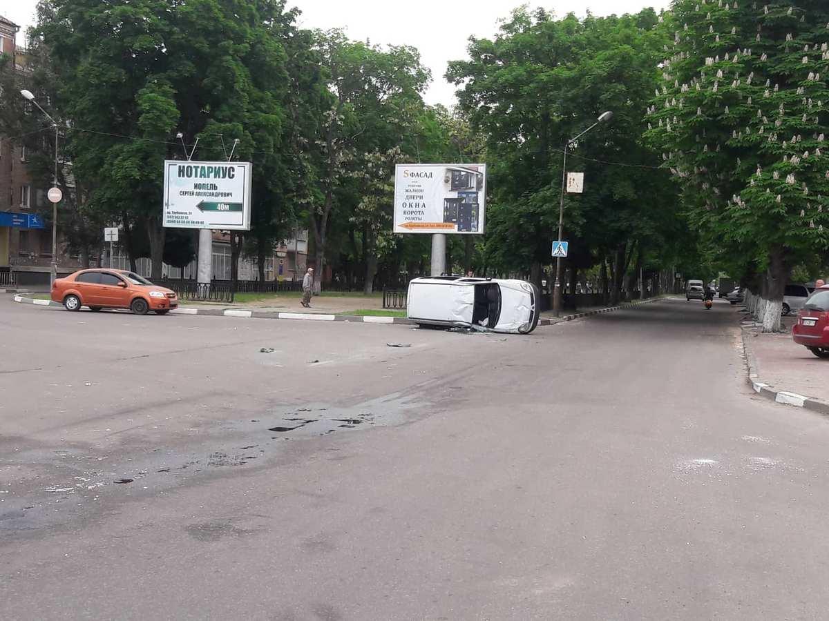 Водитель отказался забирать автомобиль с места ДТП