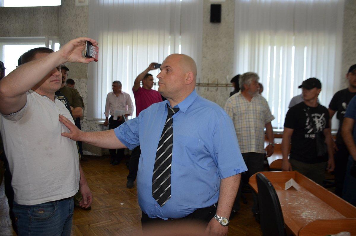 Начальник полиции Никополя Евгений Кравцов