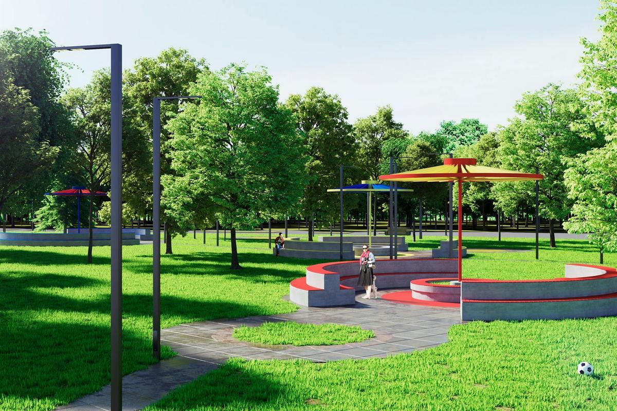 Парк отреставрируют в ближайшем будущем