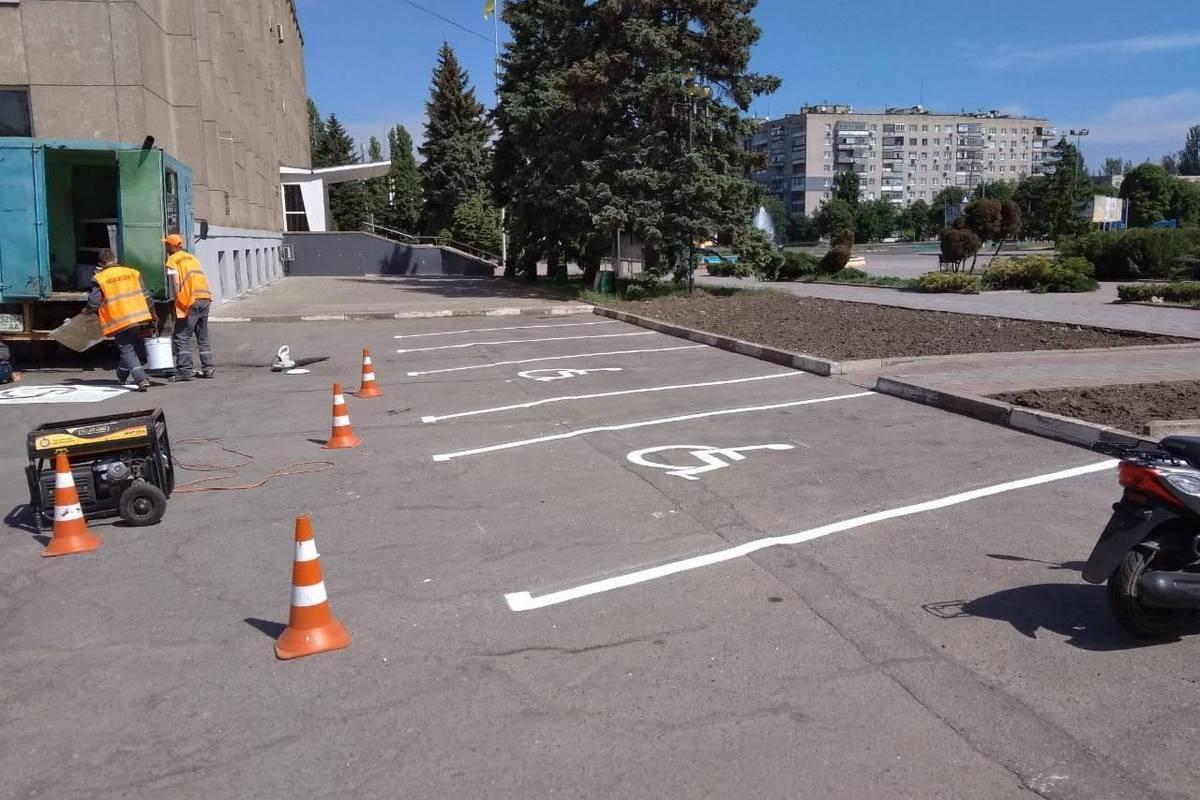 Штраф за нарушение правил парковки от 1020 до 1700 гривен