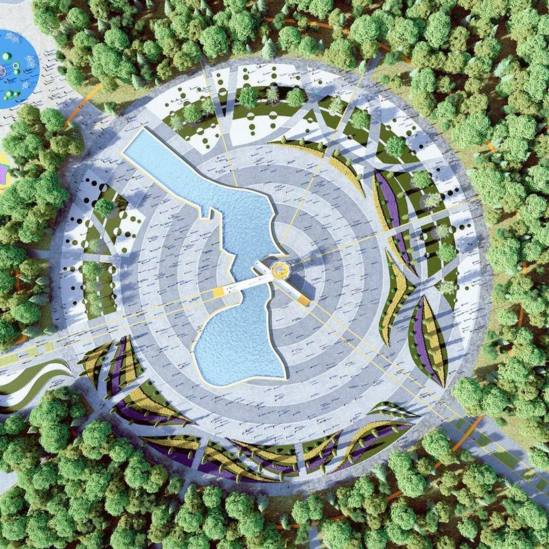 В парке восстановят искусственный водоем
