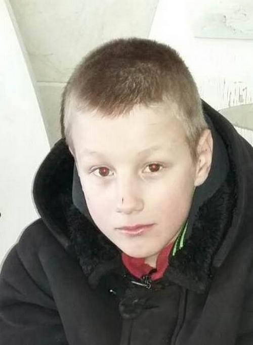 Пропал 12-летний Сергей Горобец