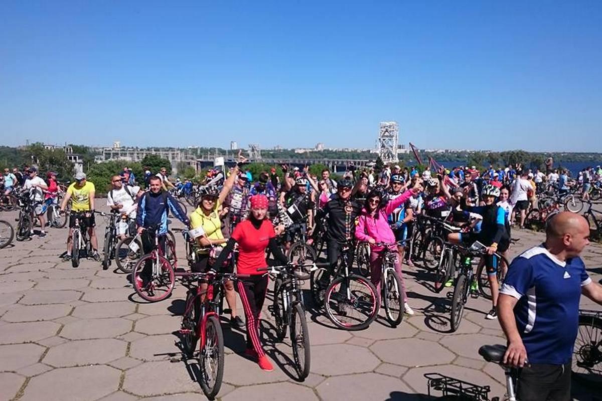 Велодень-2018 в Запорожье