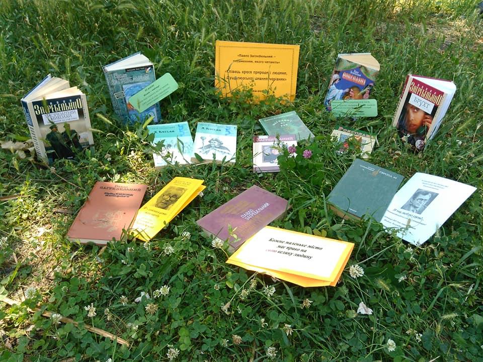 Библиотека на траве