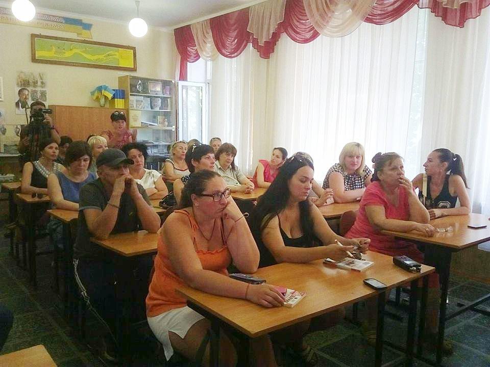 20 июня в средней школе № 2 собрались родители и руководство школы
