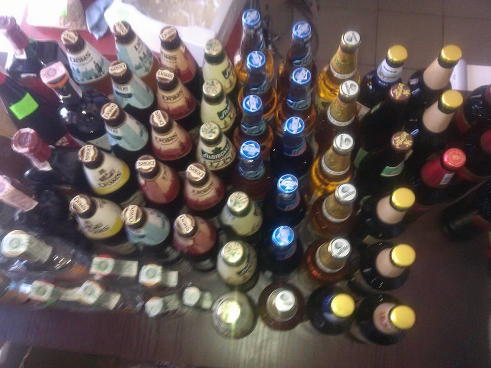 За последние десять дней изъяли 600 литров алкогольных напитков