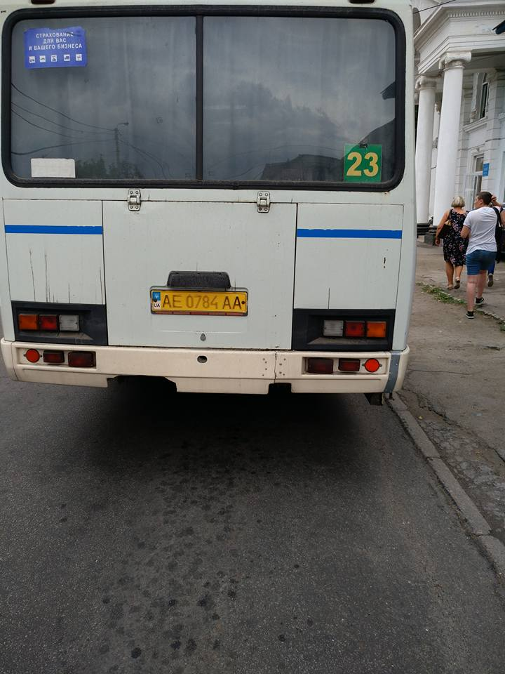 Поломанные сиденья в автобусе стали причиной обращения в полицию