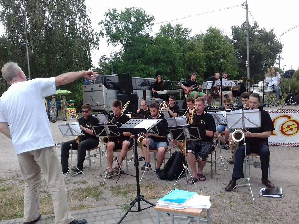 """Музыканты """"Lviv Jazz Orchestra"""""""