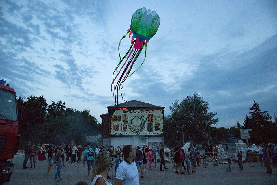 28 июня, Европейская площадь, Никополь