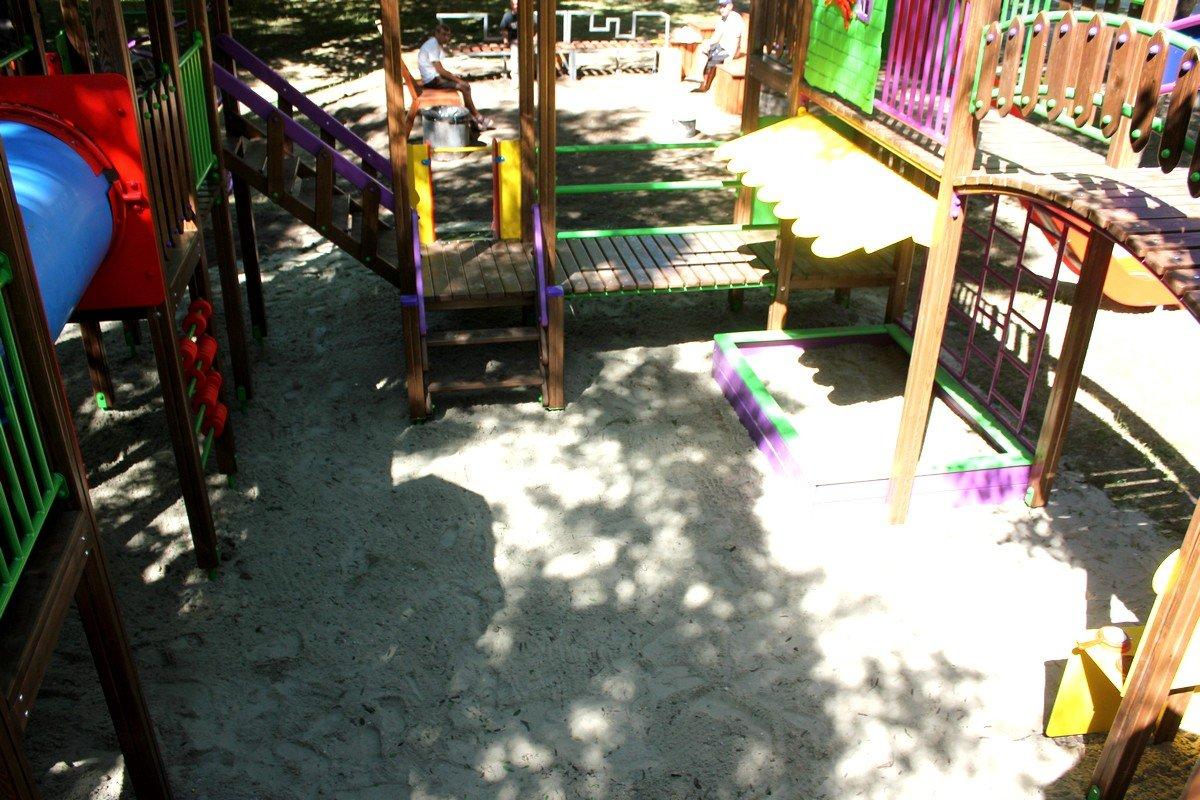 Перед открытием детский комплекс проверили на прочность