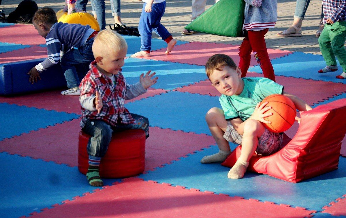 Спортивная зона для детей