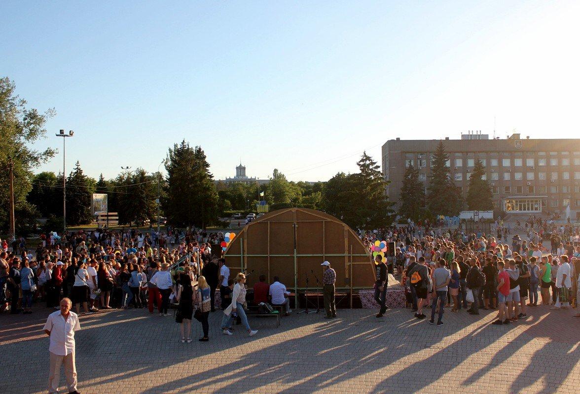 1 июня на Европейской площади в Никополе отмечают День детей