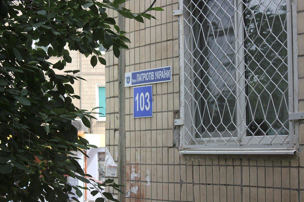 улица Патриотов Украины, 103