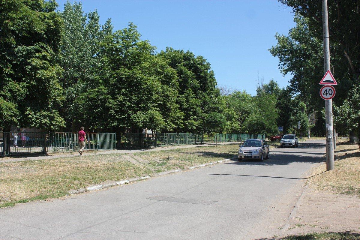 Безопасное дорожное движение возле школы № 15