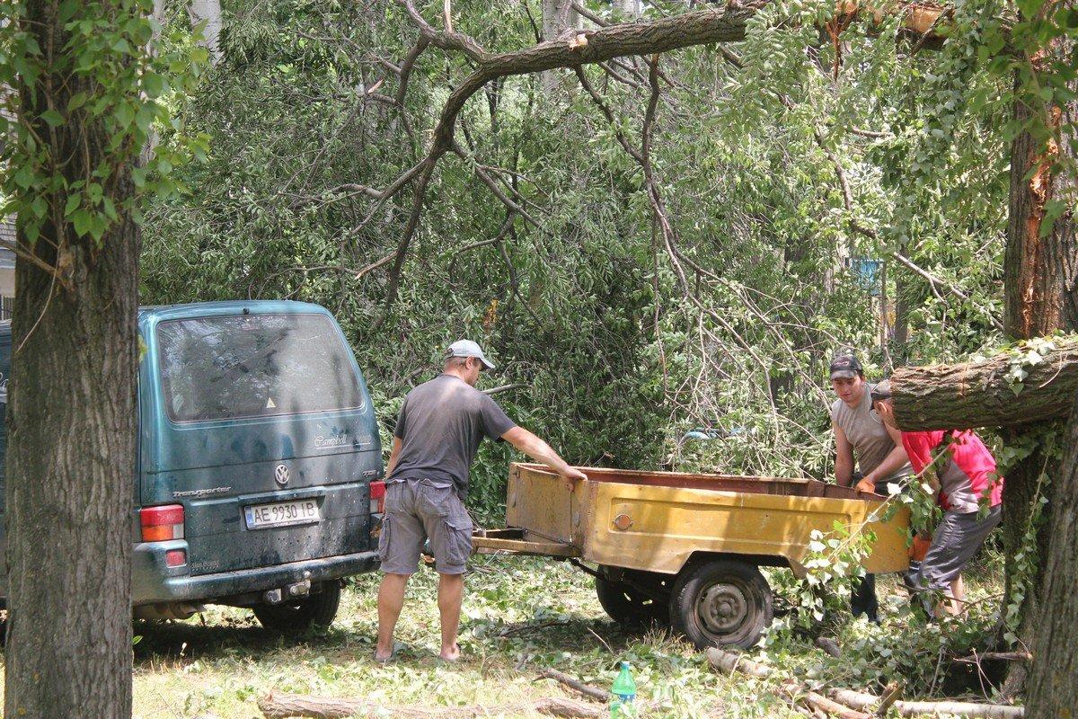 Грузим дрова