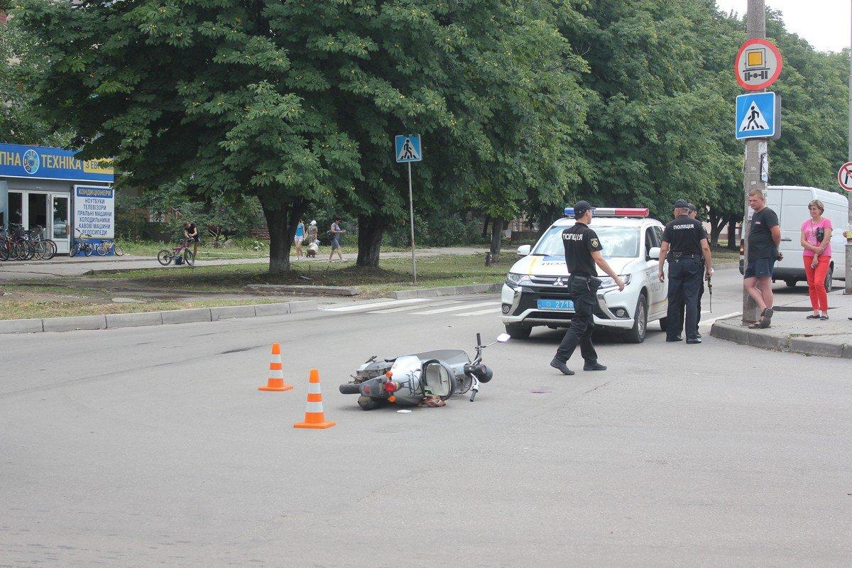 На месте ДТП работает полиция