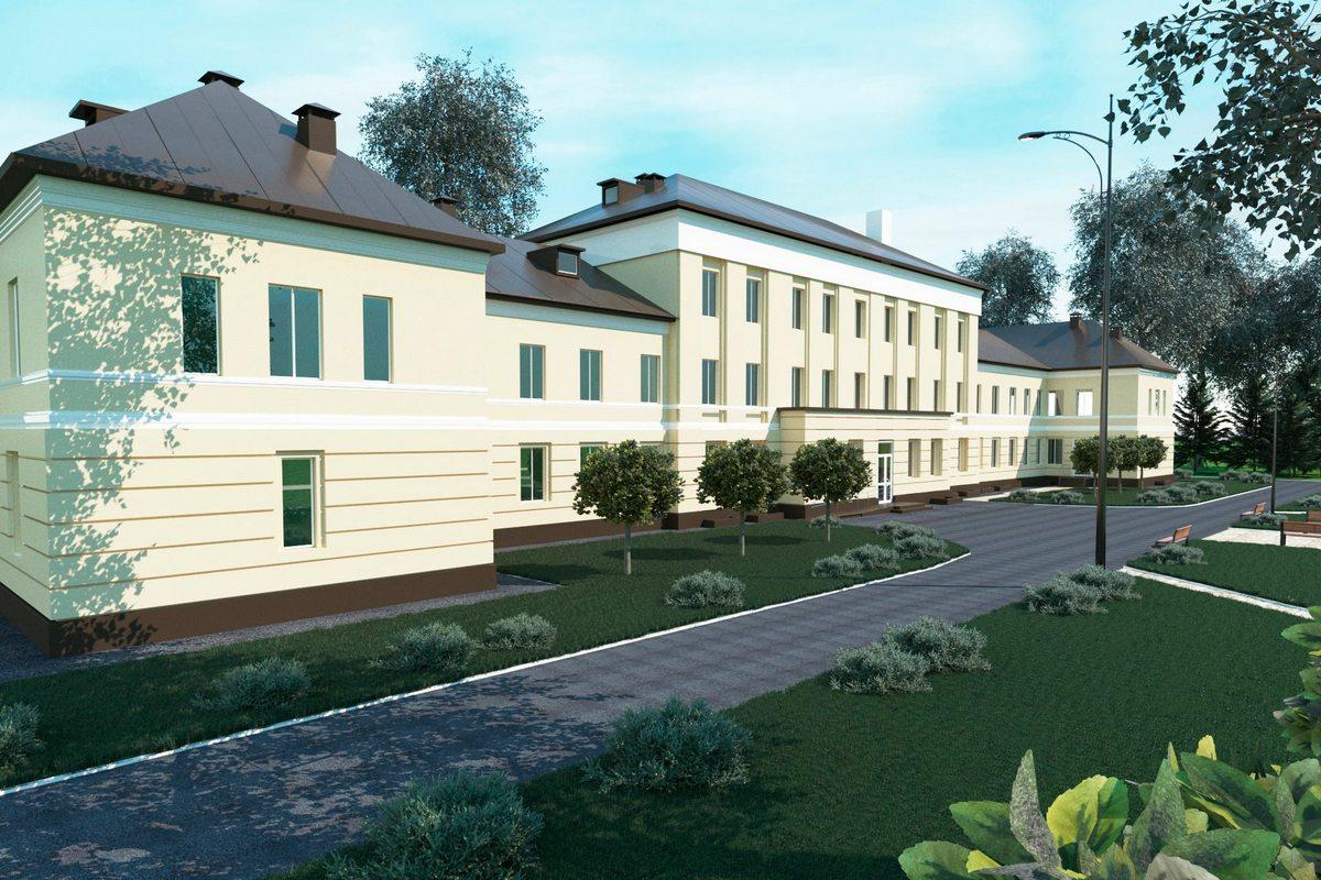 Так будет выглядеть амбулатория на проспекте после реставрации