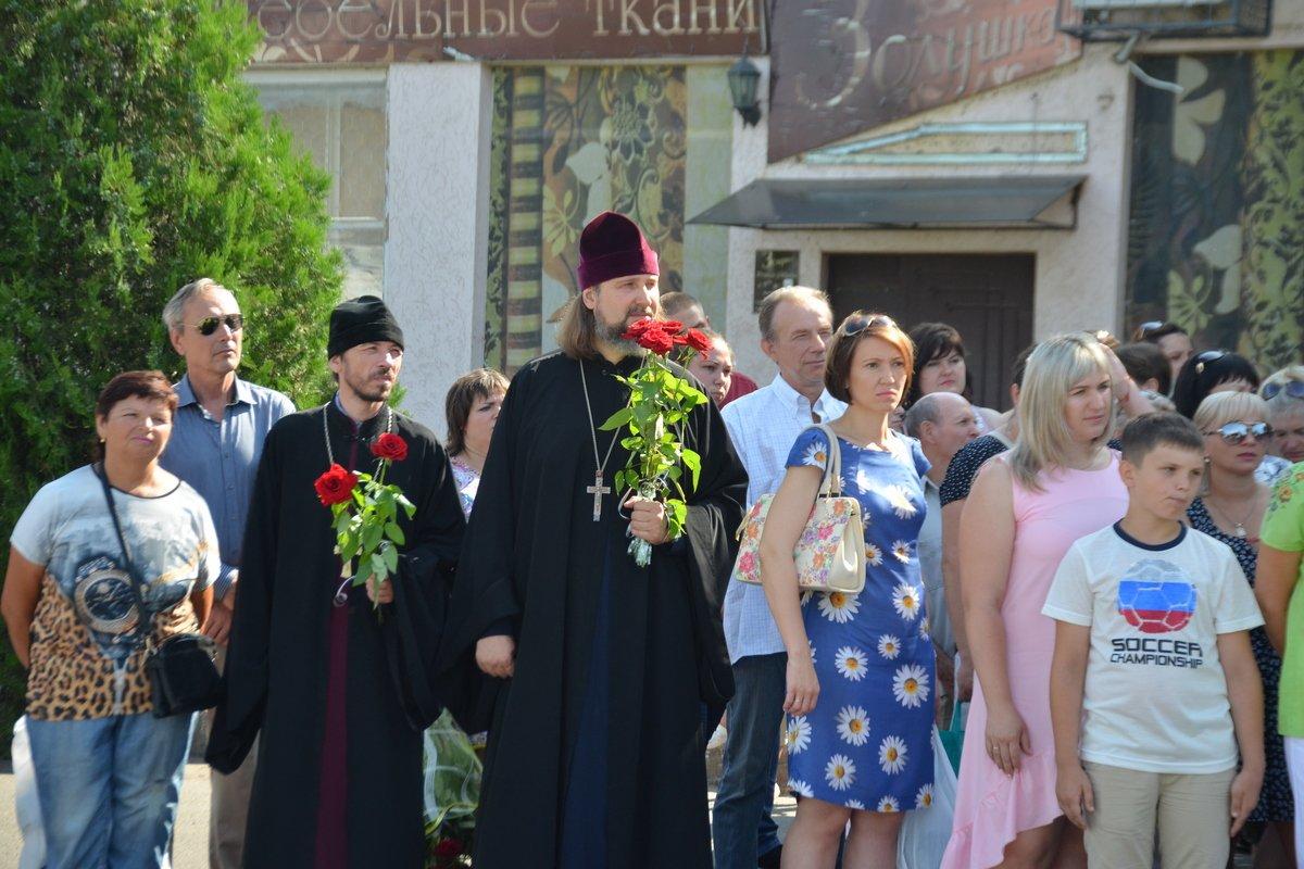 На торжестве присутствовали представители духовенства города