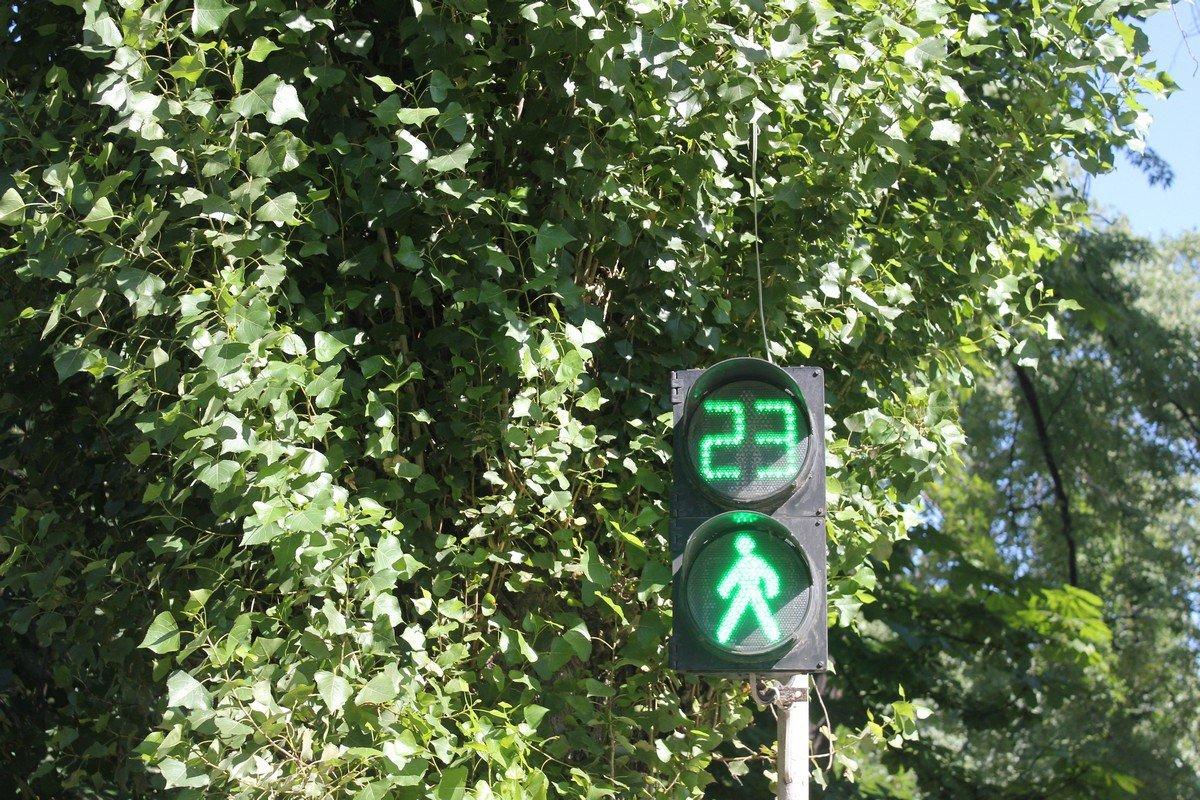 Переход на месте смертельного ДТП регулируется светофором с секундомером