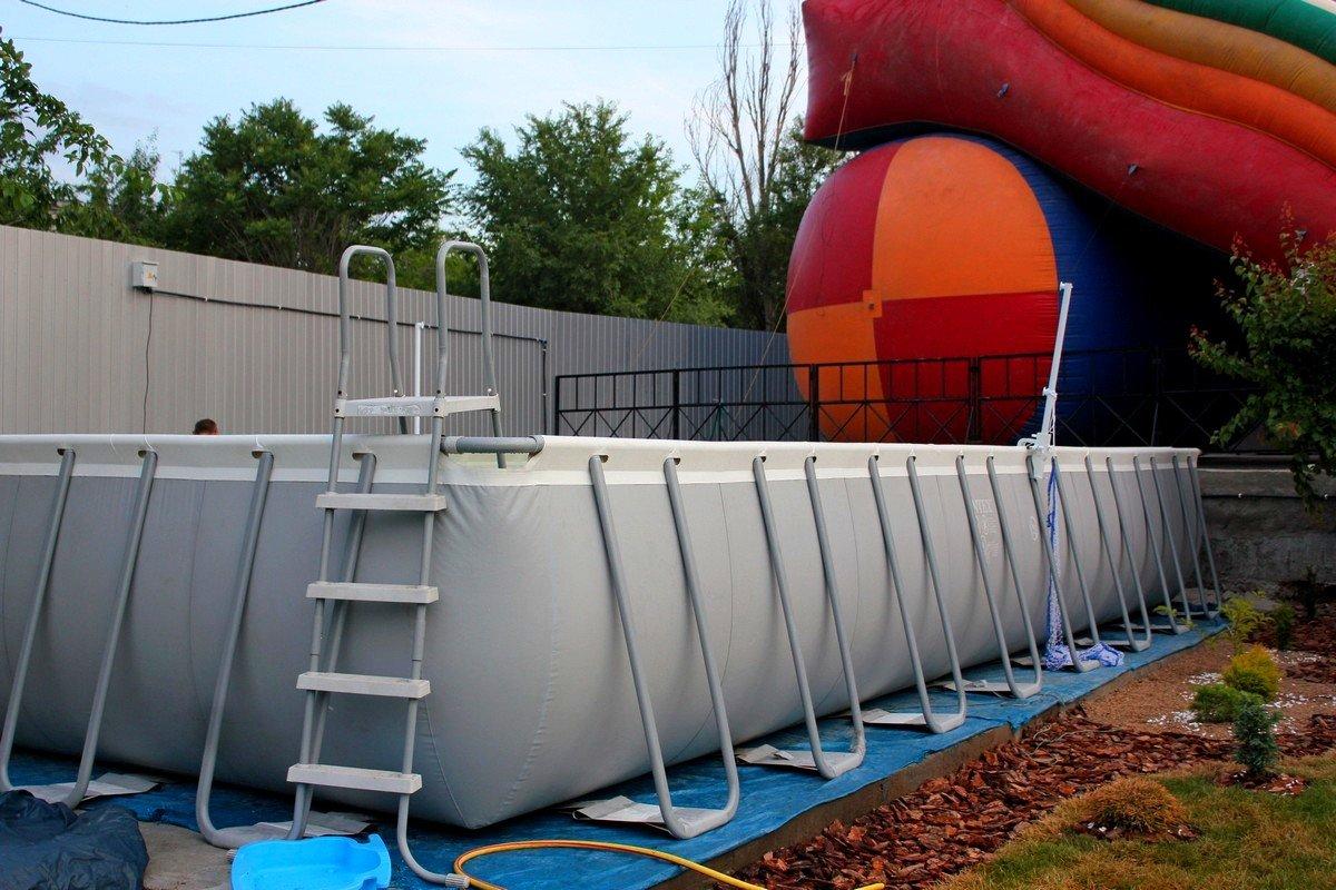 Глубокий бассейн для взрослых