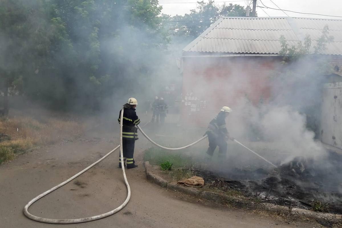 В регионе сохраняется высокая пожарная опасность