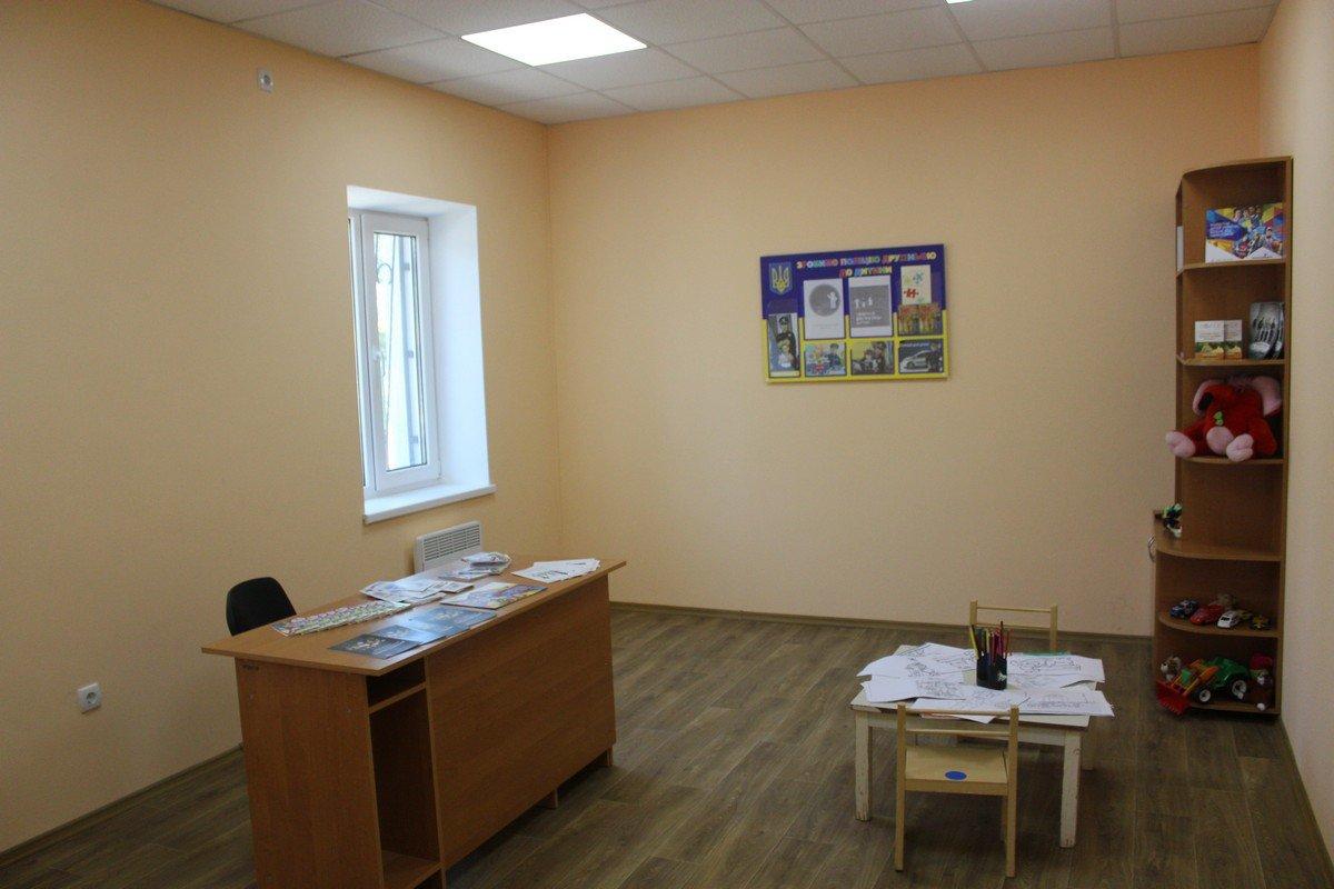 Комната для работы сотрудника превентивной службы с детьми