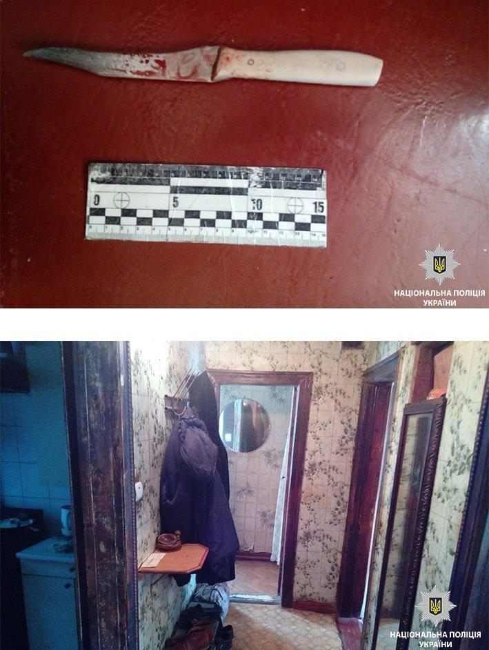 В Никополе полицейские задержали 52-летнего подозреваемого в убийстве соседки