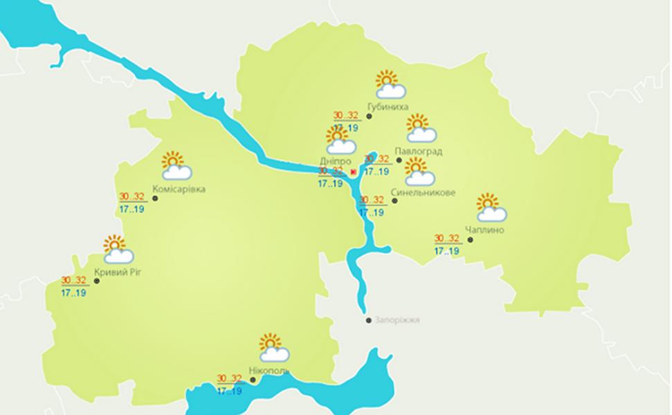 Передает Украинский гидрометцентр
