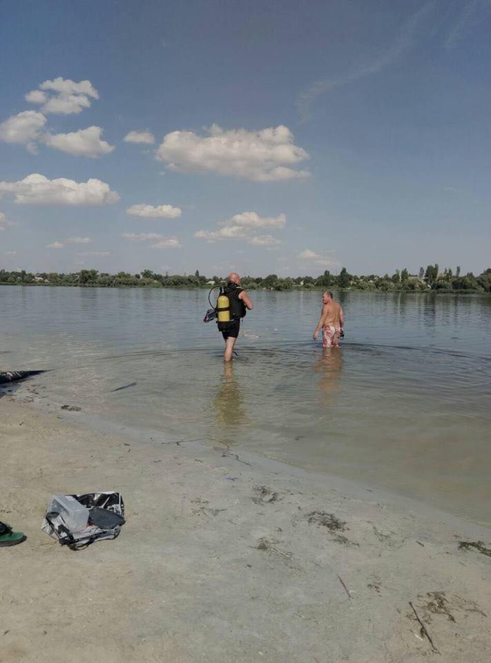 Под Никополем утонул 34-летний мужчина