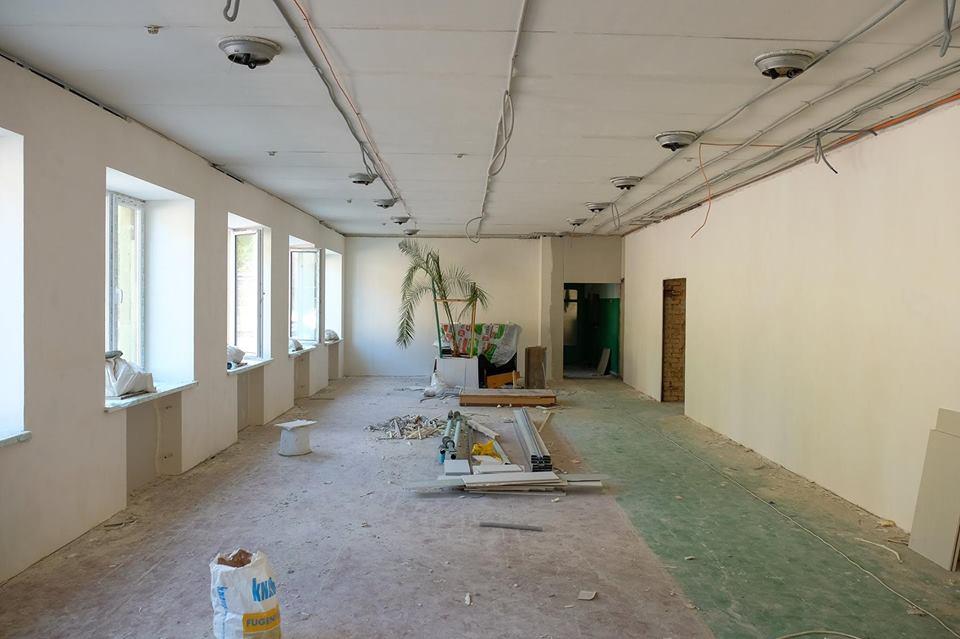 Как проходят ремонтные работы учебного комплекса №1 в Покрове