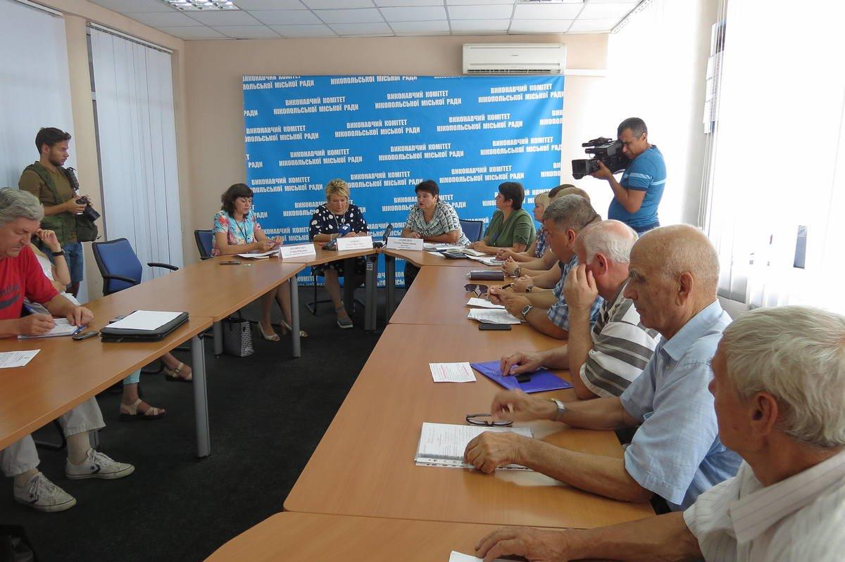Заседание провели двазаместители городского головы - Елена Давыдко и Ольга Коник