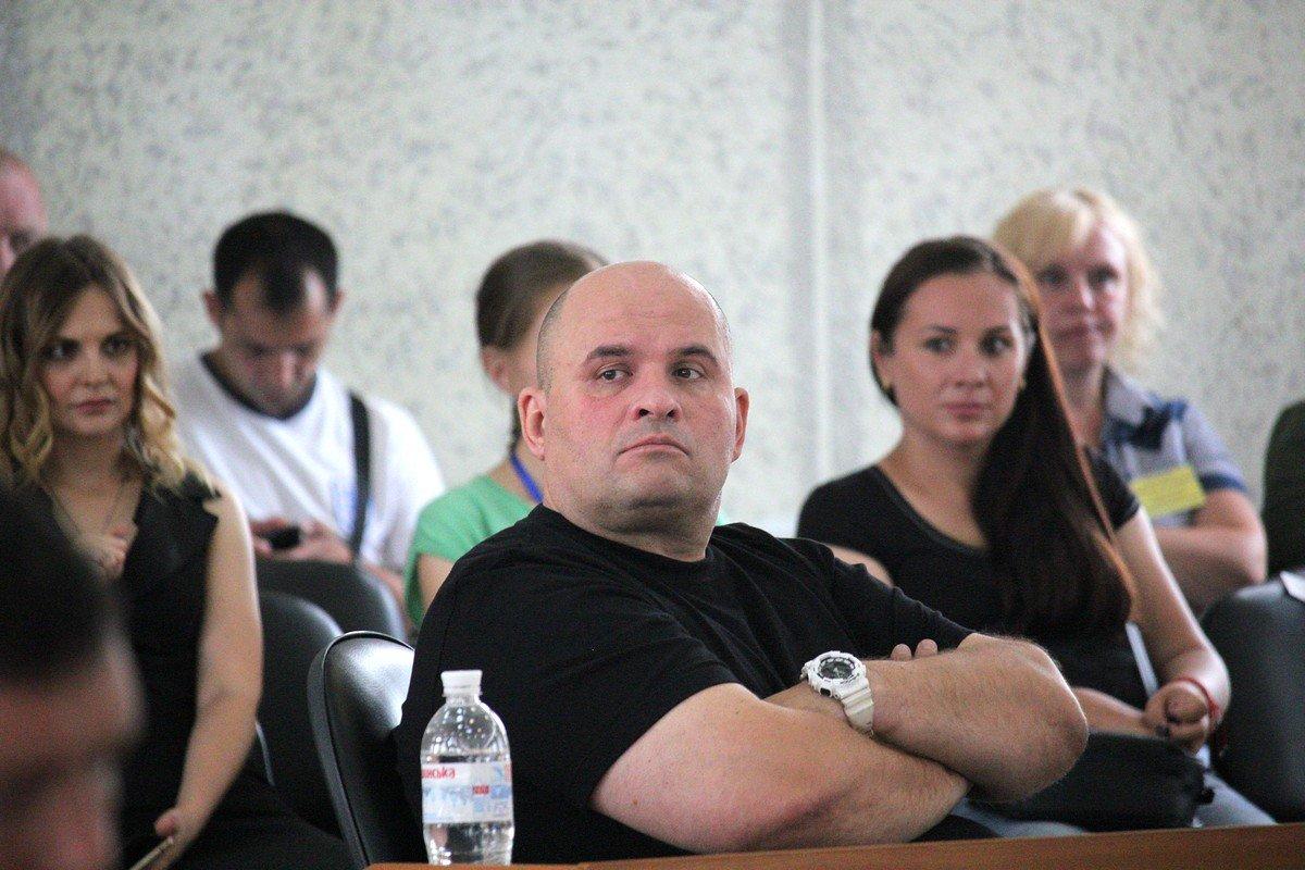 Начальник горотдела полиции Евгений Кравцов
