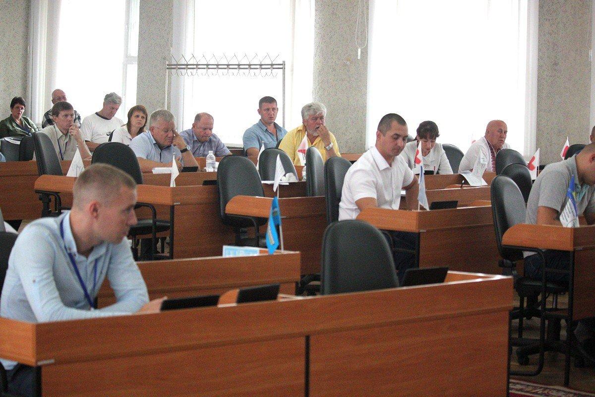 38-я внеочередная сессия горсовета Никополя