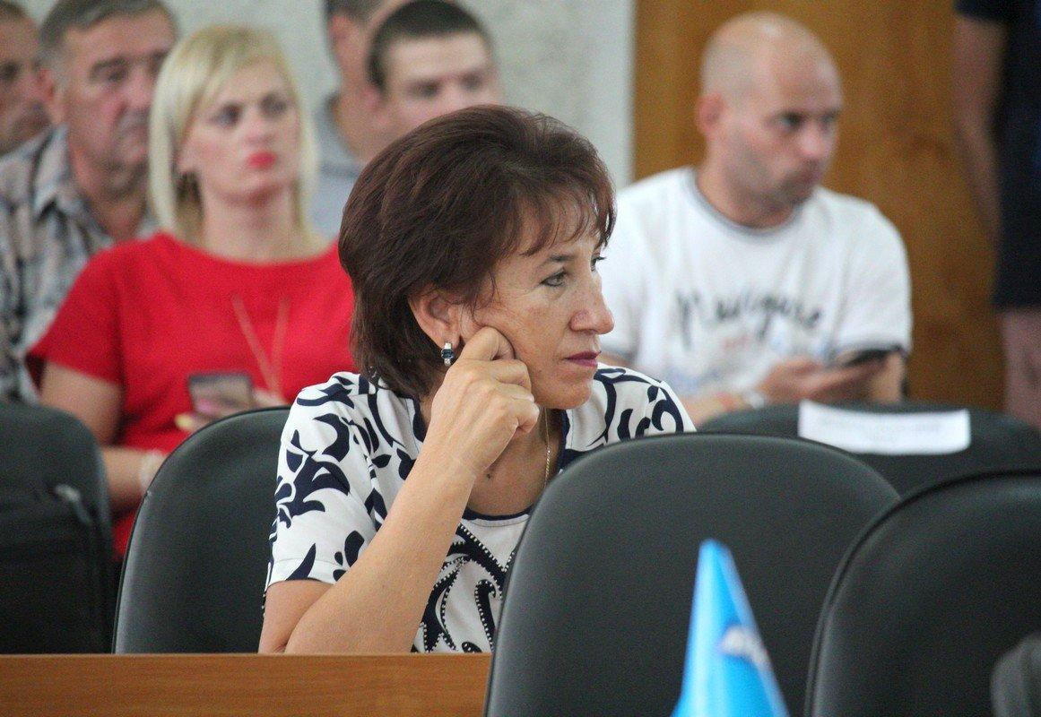 Во время городской сессии