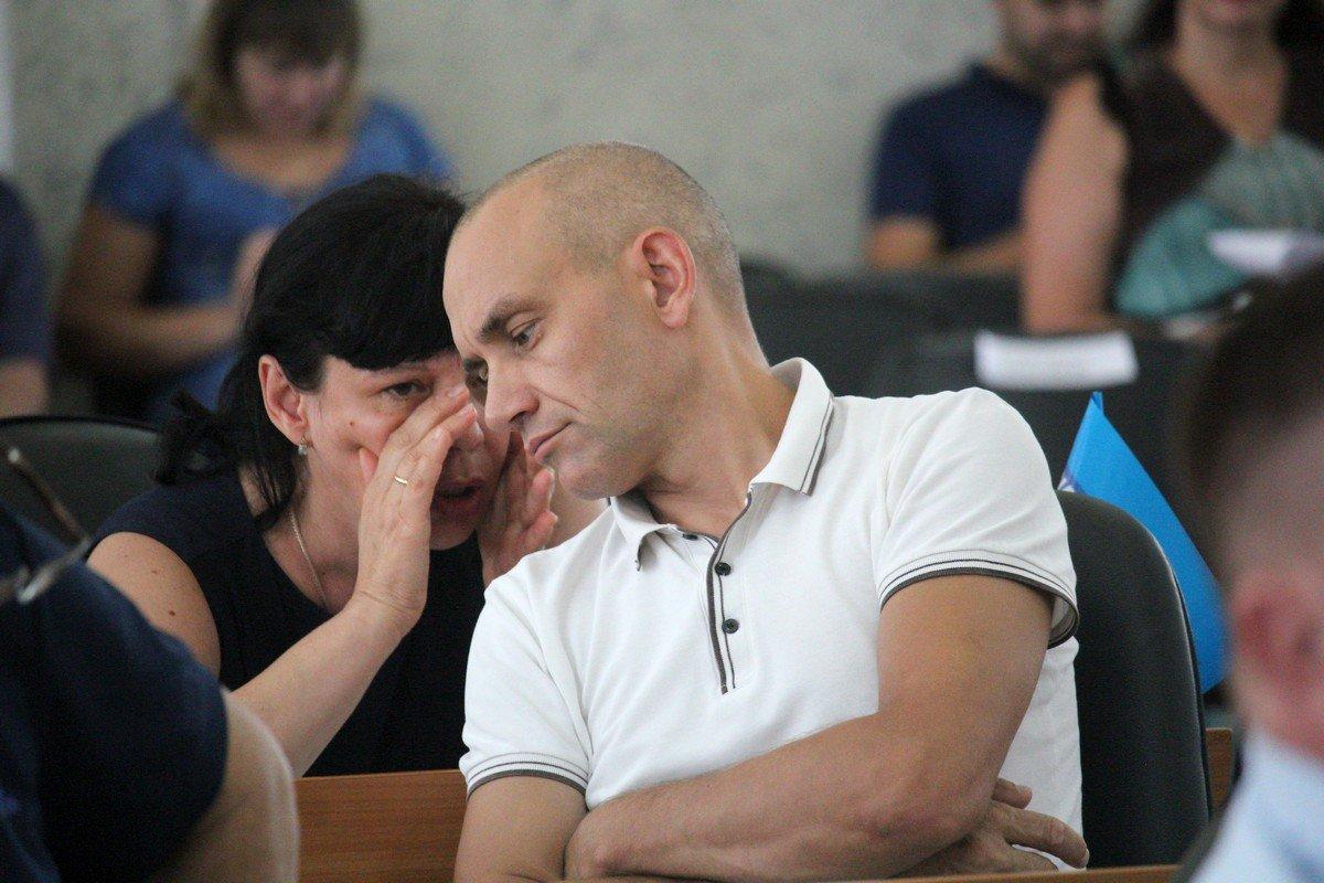 Местные депутаты: Татьяна Обыденная и Сергей Завгородний