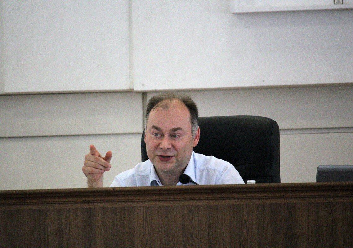 Андрей Фисак, мэр Никополя