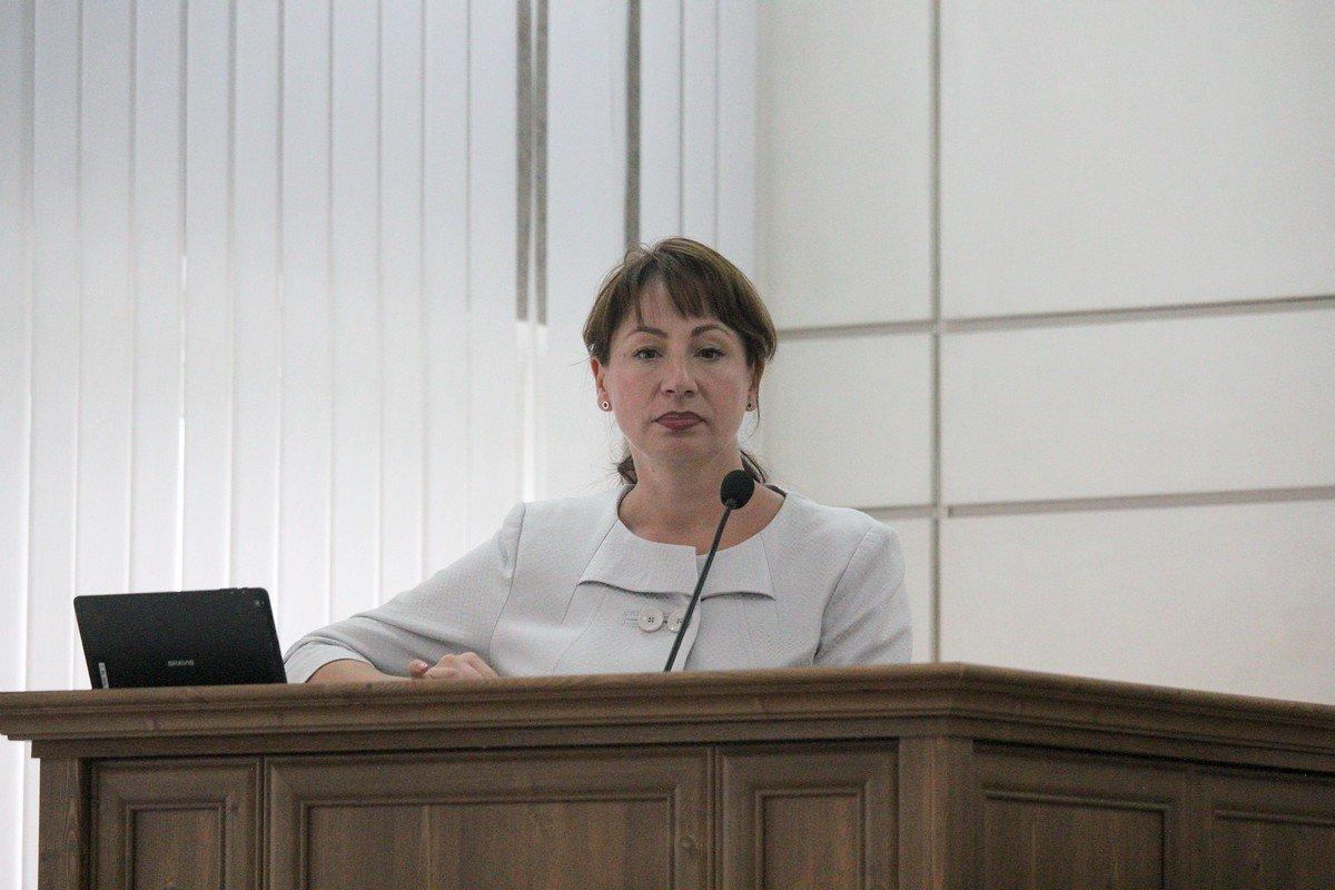 Депутат Юлия Мотриченко