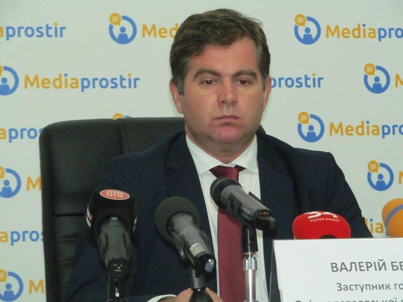 Заместитель председателя Днепропетровского облсовета Валерий Безус